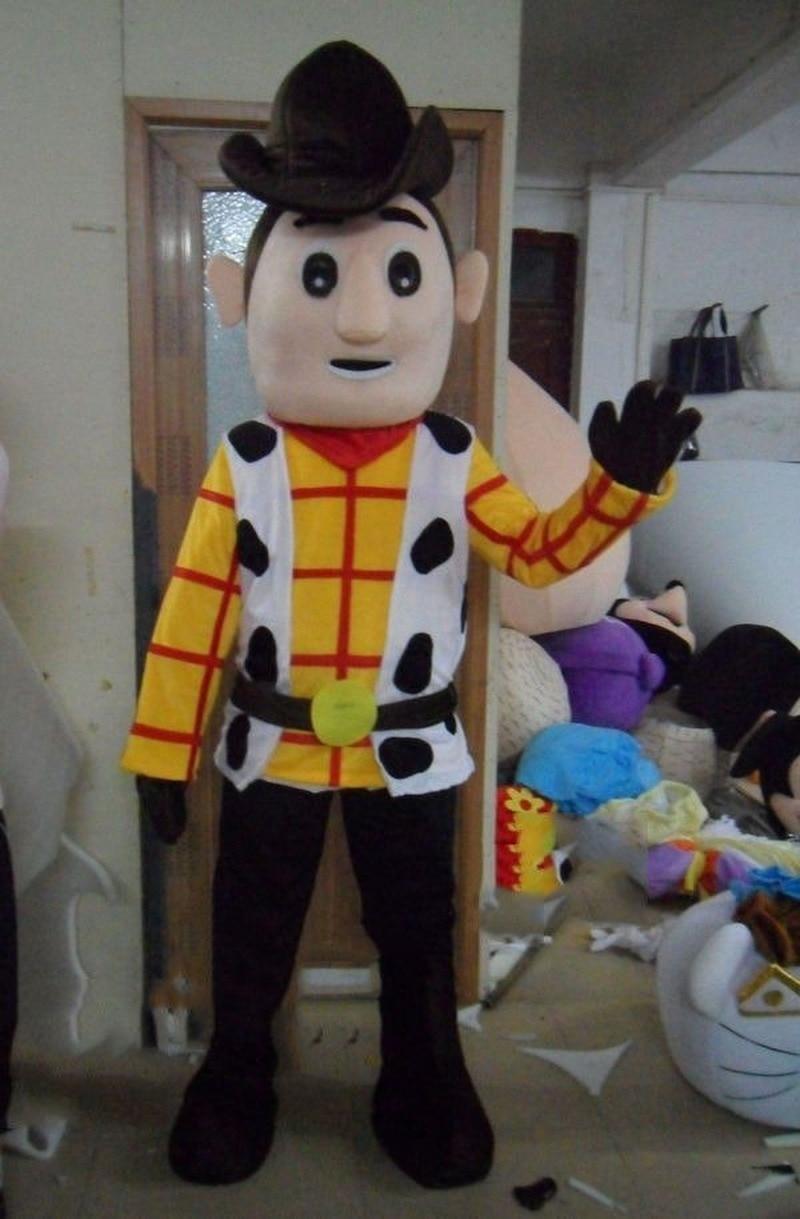 2019 Halloween Cowboy mascotte Costumes Woody jouet histoire défilé shérif tenue de fête Cosplay mascottes personnalisé