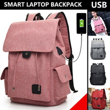 Womens Backpack for Women Usb Charging Port College Laptop School Bags Antitheft Business Backpacks