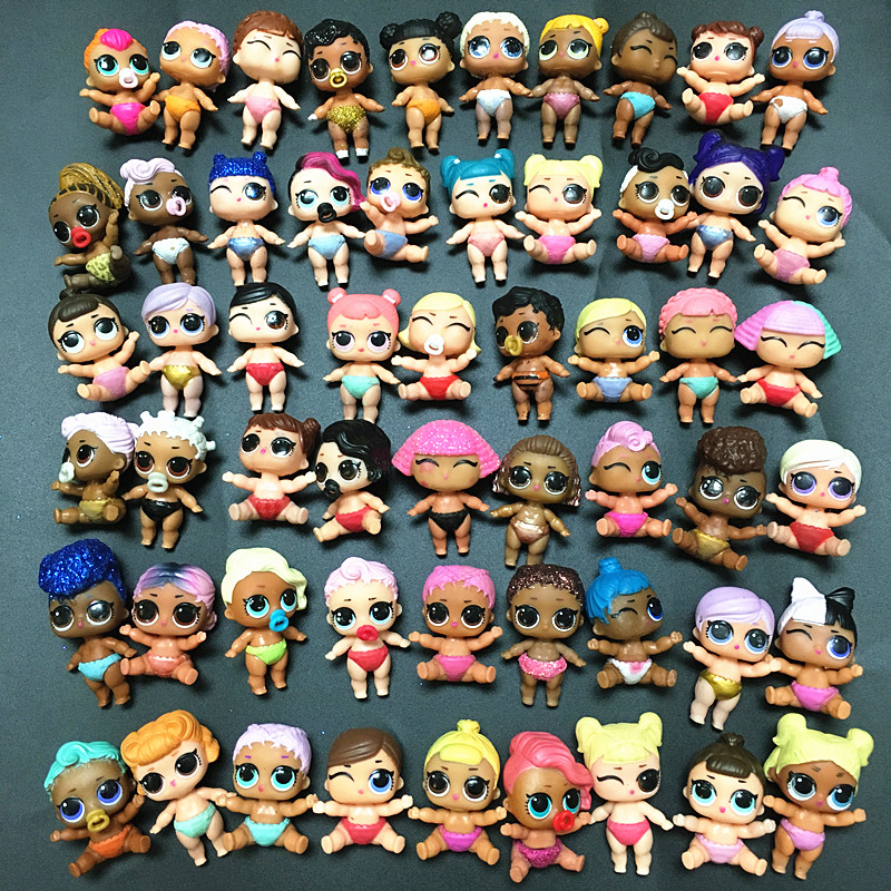 Original LOLs Dolls L.O.L. SURPRISE! 4cm Little Baby Sister Dolls Can Choose Style Limited Collection Kids Girls Birthday Gift