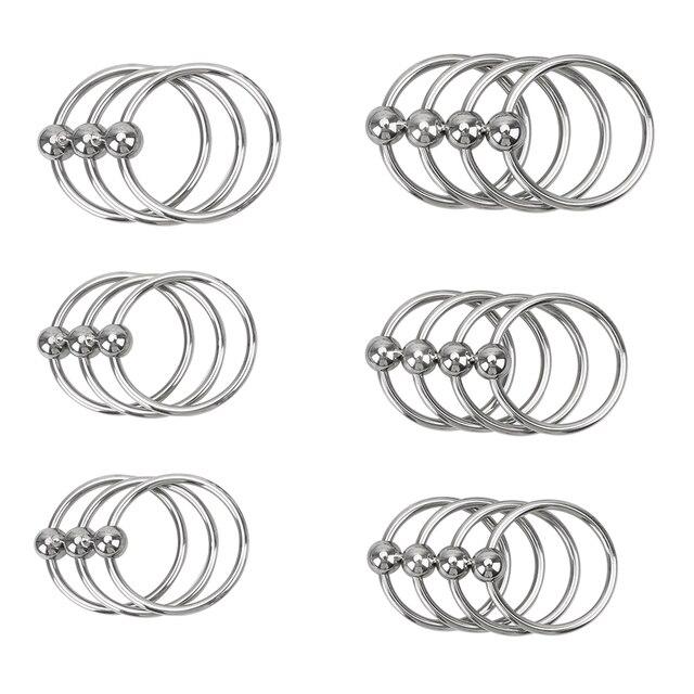 Anneau dentraînement de retard IKOKY 30/33/35mm anneau de résistance prépuce anneaux de coq anneau de pénis acier inoxydable éjaculation retardée