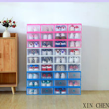 Storage-Boxes Drawer Clamshell Multifunction Combination Dust-Proof Foldable Transparent
