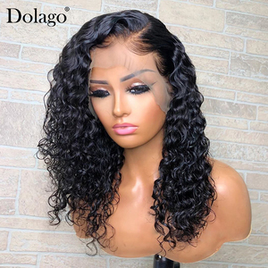 Image 3 - Loose Wave 360 Lace Frontal Wig 250 Density 13x6 Lace Front Human Hair Wigs With Baby Hair Wavy U Part Wig Dolago Remy