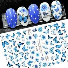 Butterflys unhas arte manicure volta cola decalque decorações design adesivo para unhas dicas beleza