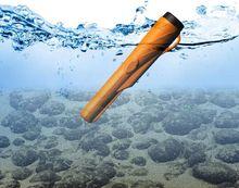 Pointeur détecteur de métaux en caoutchouc boîtier étanche étui anti poussière pour localiser la couverture sous marine (pas de détecteur)