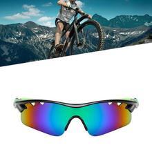 Moda Sun UV okulary rowerowe jazda na zewnątrz sportowe okulary przeciwsłoneczne okulary rowerowe wiatroszczelne Sandproof spolaryzowane okulary rowerowe tanie tanio CAR-partment Jeden rozmiar Unisex MULTI dropshipping wholesale 154mm 40mm