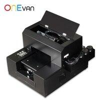 ONEVAN. 자동 A4 UV 프린터 LED UV 프린터 UV 인쇄 기계 전화 케이스 금속 유리 나무 홀더