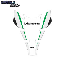 цена на 3D Motorcycle Sticker Decal Gas Oil Fuel Tank Pad Protector Case For Kawasaki Ninja ZX6R 636 ZX6RR ZX9R Z1000 ZZR600 Versys 1000