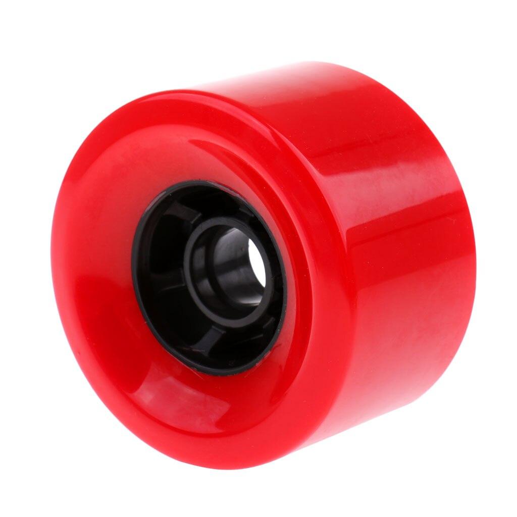 New Solid Cruiser Longboard Skateboard PU Wheel Standard 90*52mm High Elastic Shock Absorb
