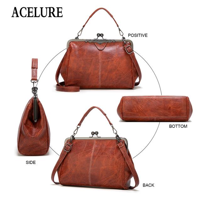 ACELURE New Fashion Dumpling Bags Womens Large Tote Messenger Bag Women Shoulder Bags Shopping Handbag Travel Beach Bag Bolsas