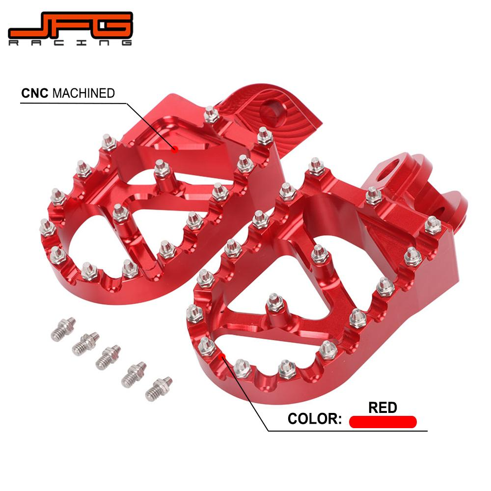 Motorcycle CNC Foot Pegs Pedals Rests Footpegs For <font><b>Beta</b></font> 200RR <font><b>300RR</b></font> 2T 350RR 390RR 400RR 430RR 450RR 480RR 498RR 520RR 4T image