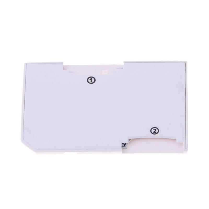 CR-5400 Card Adapter For Micro SD TF To Memory Stick MS Pro Duo PSP Card Dual 2 Slot Adapter White