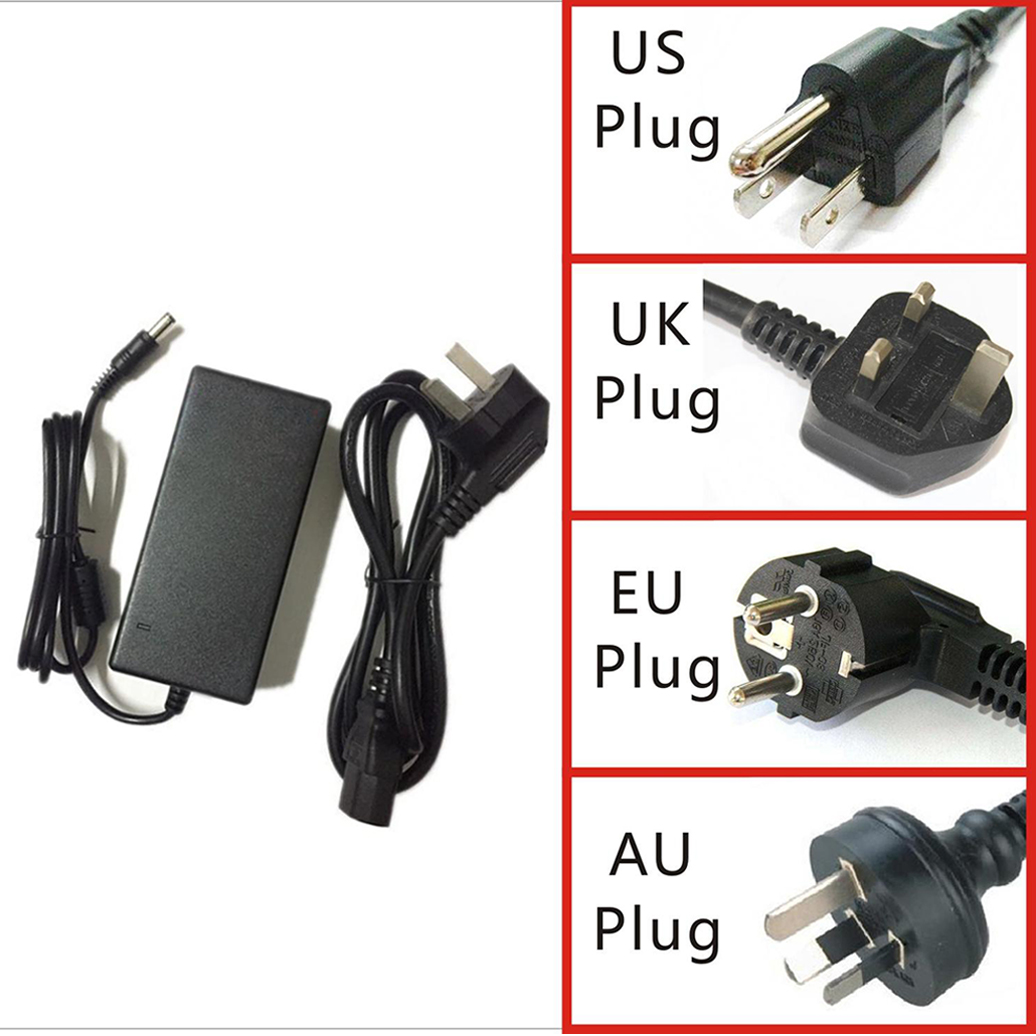 Image 5 - 12V 4A AC DC Adapter for LCD Charger Power Cord Supply Cord Cable Mains PSU 100 240vAC/DC Adapters   - AliExpress