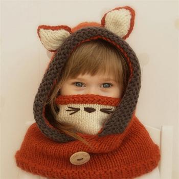 Dzianinowa czapka dziecięca czapka niemowlęca kapelusz niemowlęcy dla chłopca lub dziewczynki ciepłe dzieci dziecko jesień zima dziewczyny kapelusz dla dzieci maluch Muts Bonnet Enfant tanie i dobre opinie LEOSOXS Pasuje prawda na wymiar weź swój normalny rozmiar M001 COTTON