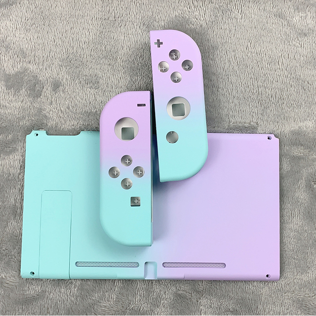 NEW Joycon Shell Gradient Color Protective Case Joy Con Controller Hard Housing Full Cover Shell For Nintend Switch Game Console