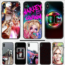Harley Quinn Suicide Squad Custom Photo Soft Phone Case For iphone 4 4S 5 5S SE 5C 6 6S 7 8 plus X XS XR 11 PRO MAX(China)