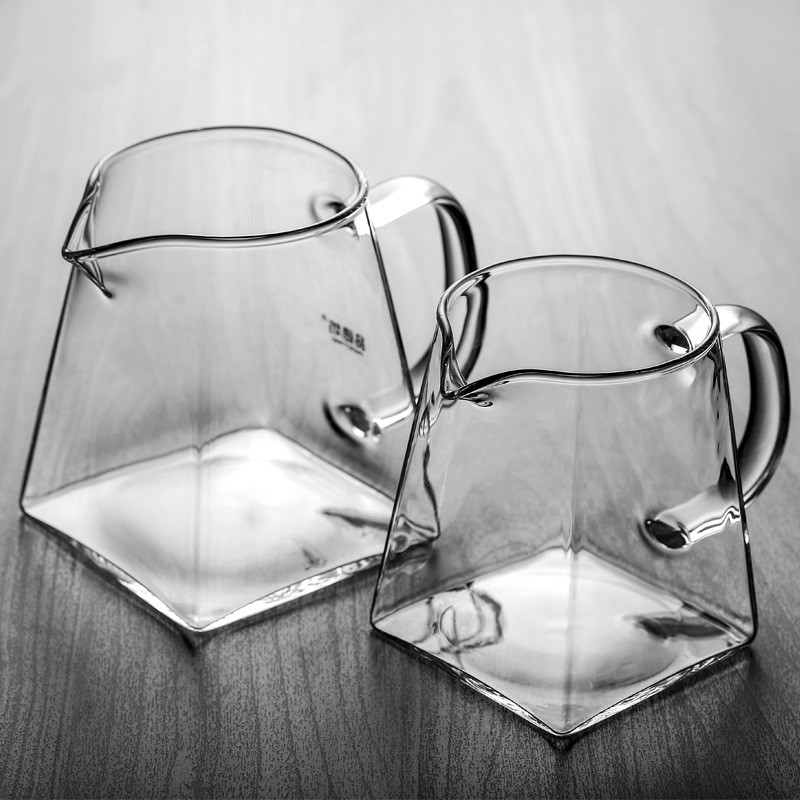 Accessory Tea-Set Coffee-Pot Glass Water-Jug Tea Pitcher Clear Square Chinese Chahai title=