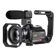 Camcorder 4K Video Camera Professional ORDRO AC5 12X Optical Zoom Wifi filmadora