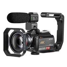Camcorder Video Camera 4K ORDRO AC5 12X Optical Zoom Wifi Full HD Camara Filmado