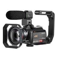 Camcorder 4K Video Camera Professional ORDRO AC5 12X Optical Zoom Wifi filmadora Vlog Camera