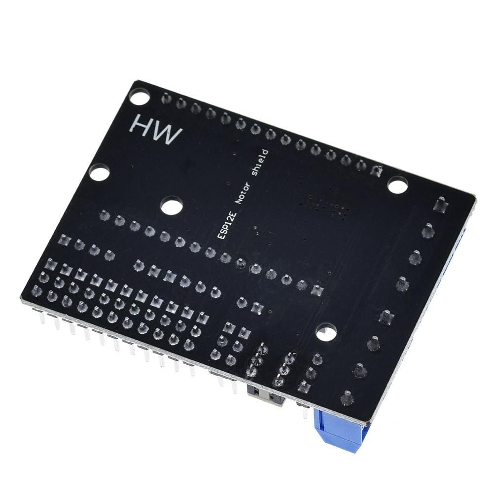 NodeMCU Motor Shield Board L293D for ESP-12E from ESP8266 esp 12E kit diy rc toy wifi rc smart car remote control For Arduino