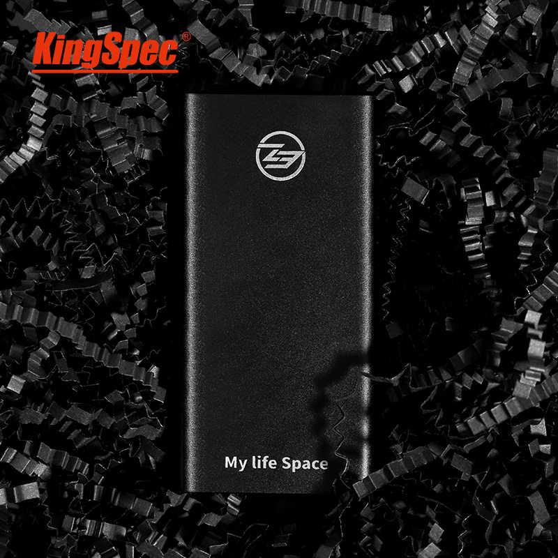 KingSpec Ssdแบบพกพา 240Gb SSDไดรฟ์ภายนอก 120Gb Ssd Hdd USB 3.1 Type-C solid State Disk USB 3.0 สำหรับแล็ปท็อปPc