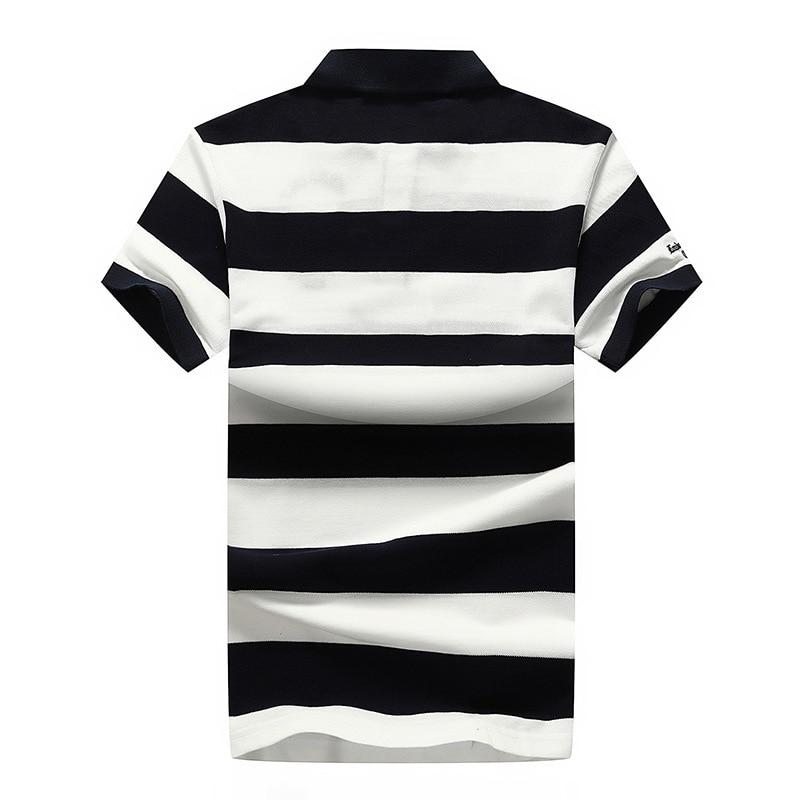 Fashion Stripe Men Polo-shirt T Shirts