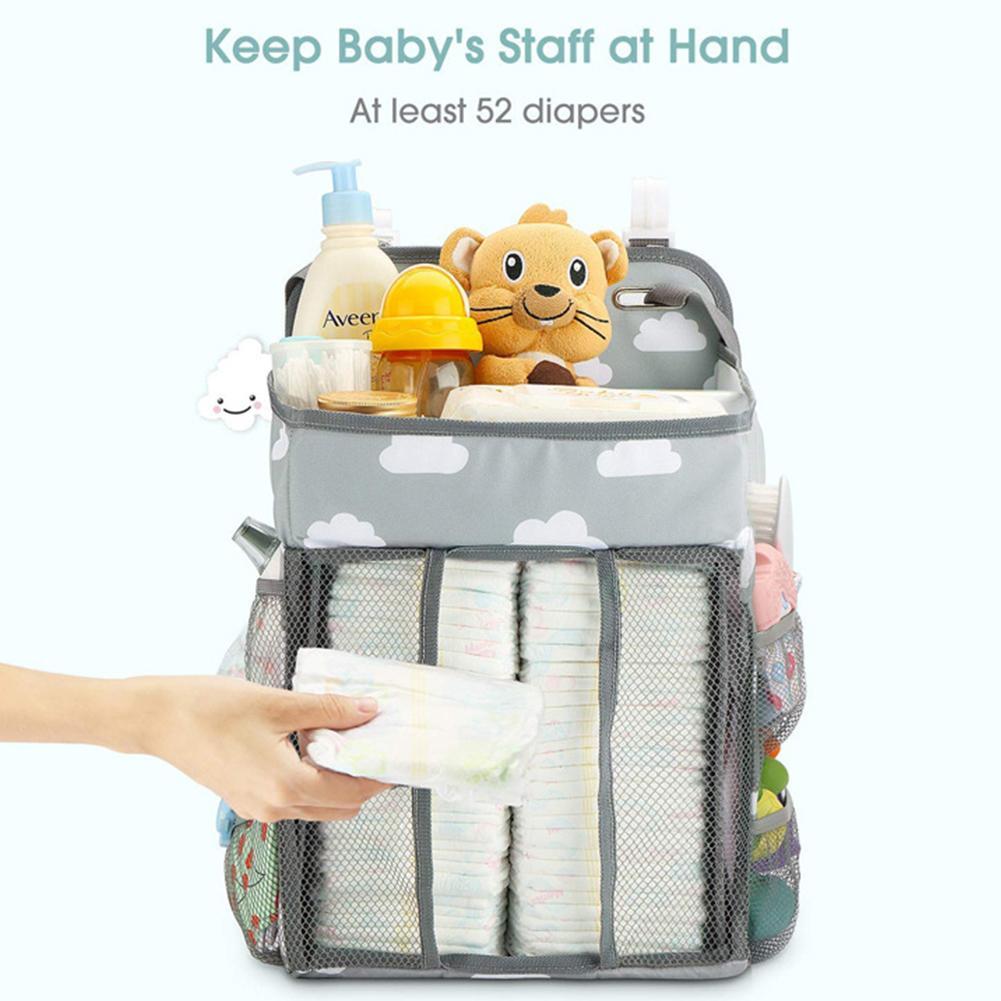 Diaper Wall Storage Bag Baby Diaper Storage Bag Baby Hanging Bag Baby Storage Hanging Bag Baby Outdoor Essential Emergency