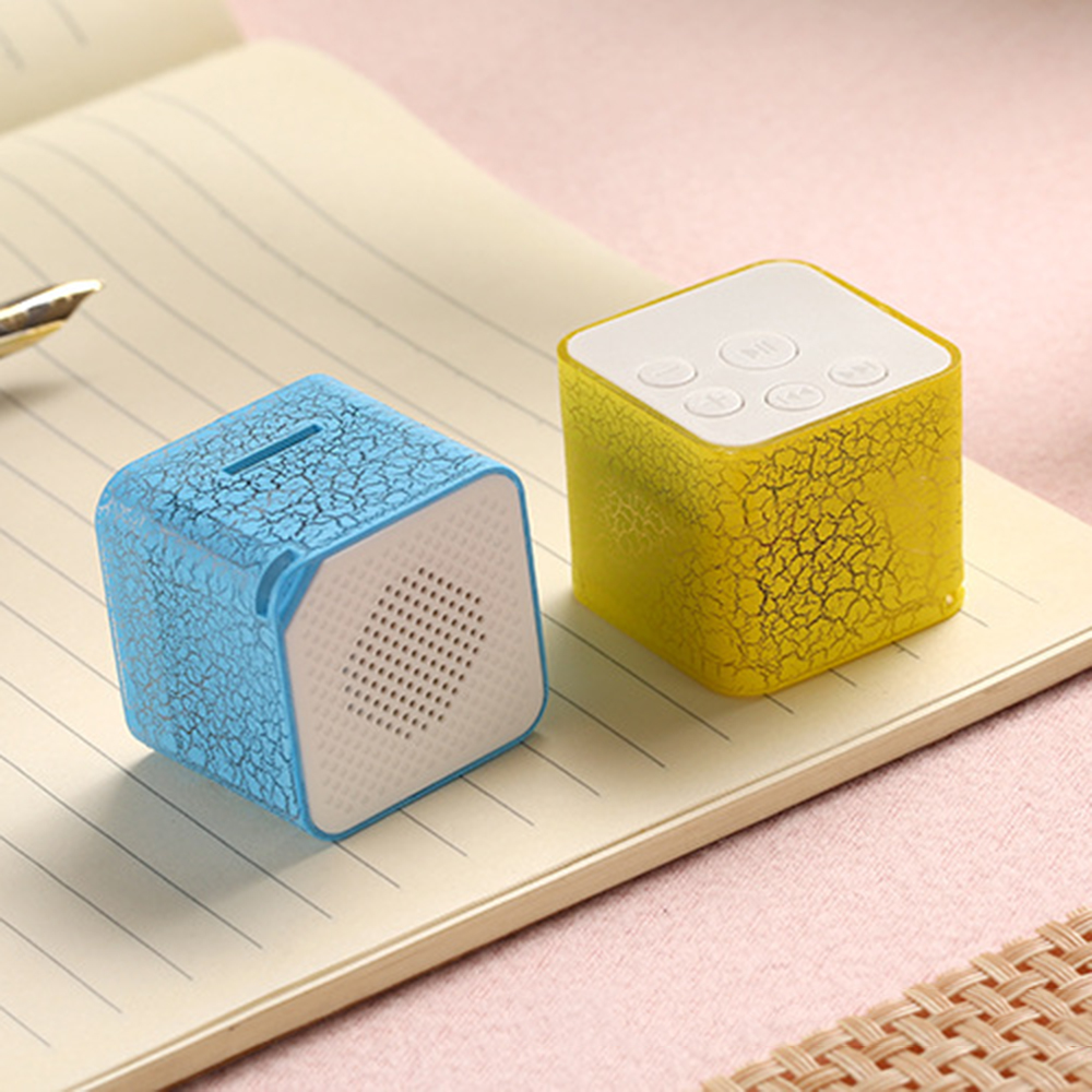 New Portable Speaker Mini Wireless LED TF USB FM Stereo Sound Speakers MP3 Stereo Audio Music Player