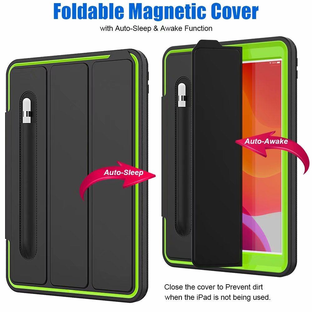 case Kickstand generation For For 2019 ipad Armor iPad smart 10.2 Case Shockproof 7th