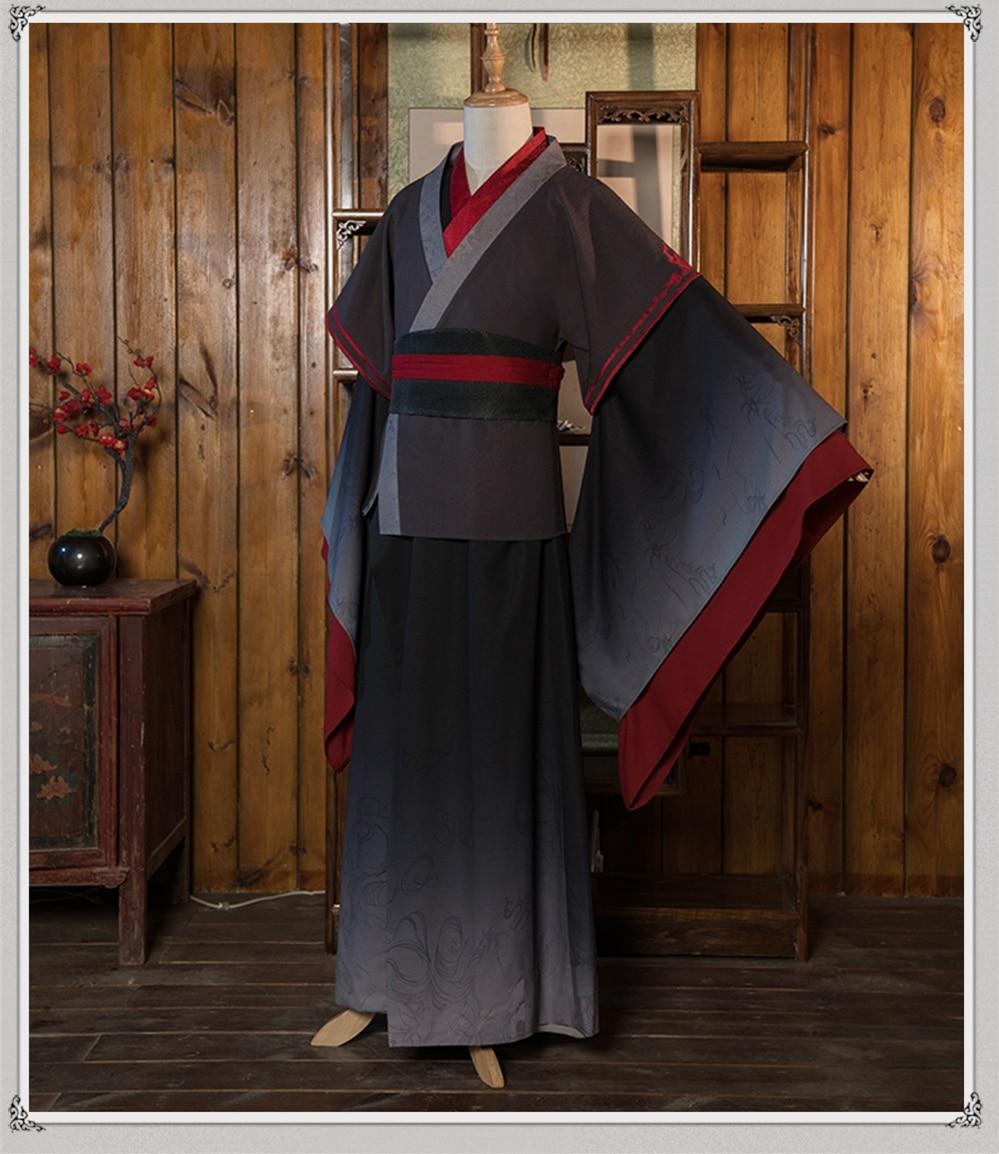 Wei Wuxian Cosplay Mo Xuanyu Costume Anime Grandmaster Of Demonic Cultivation Cosplay Mo Dao Zu Shi Costume Men