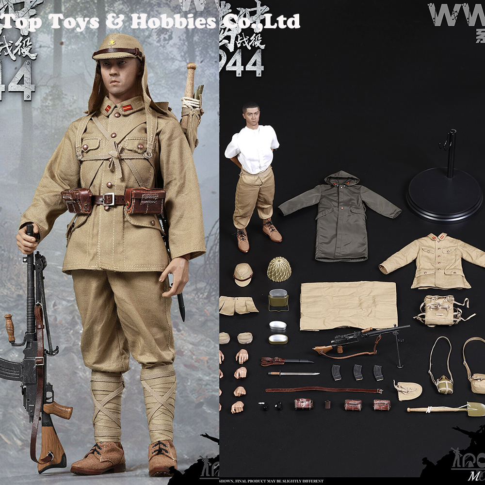 1//6 Scale World war II Japanese Army Soldier Action Figure WAR STORY Collections