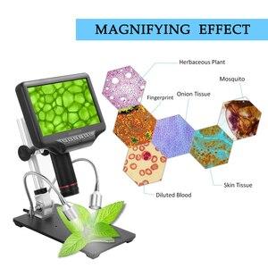 Image 5 - Andonstar AD407 High Definition Digitale Biologische Mikroskop Kamera 270X 1080P USB Elektronische Stereo Mikroskop für Löten