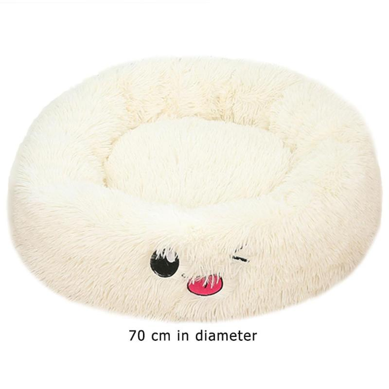 Lamb Velvet Plush Dog Cat Beds Soft Plush Pet Sofa Waterproof Bottom Nest Baskets Sleeping Cushion Household Supplies 32