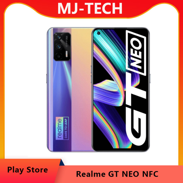 """realme GT Neo Flash version  5G Mobile Phone Dimensity 1200 Octa Core 6.43""""120Hz Super AMOLED 50W Fast Charge 64MP WIFI6 NFC 1"""