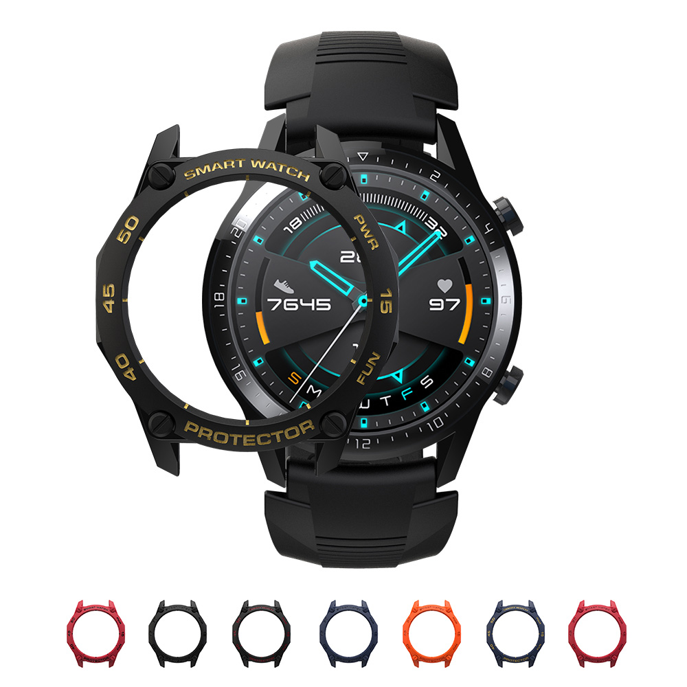 For Huawei Watch GT GT2 GT 2 Active Classic Sport Case Protector Strap SIKAI PC TPU Band Bracelet Smart Accessories Cover