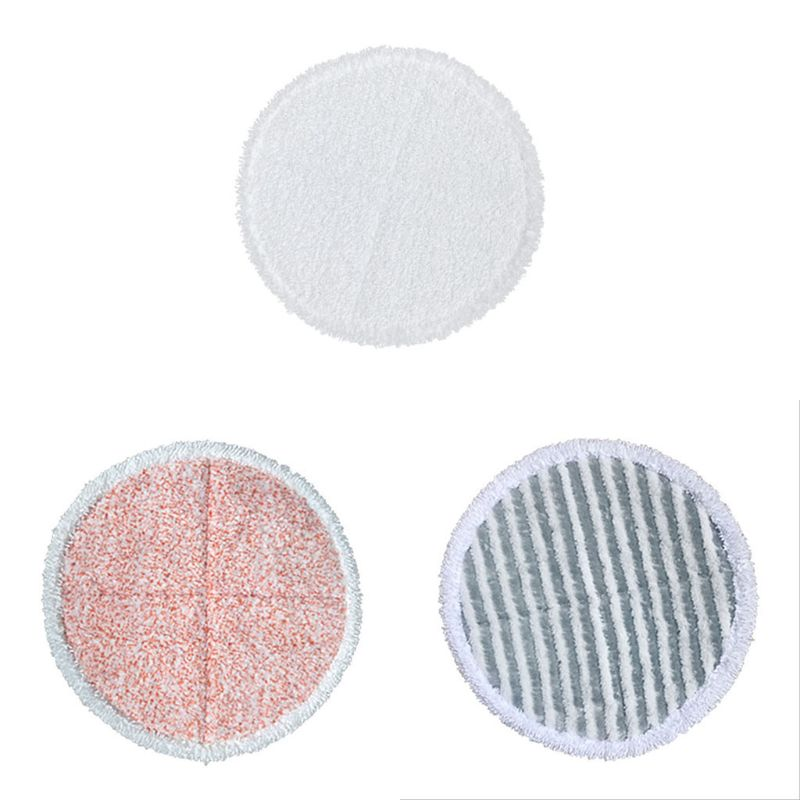 Image 4 - 6 pics Mop Replacement Pads for Bissell Spinwave 2039A 2124 Powered Hard Floor Mop (2 Soft Pads+2 Scrubby Pads+2 Heavy Scrub Pad-in Vacuum Cleaner Parts from Home Appliances