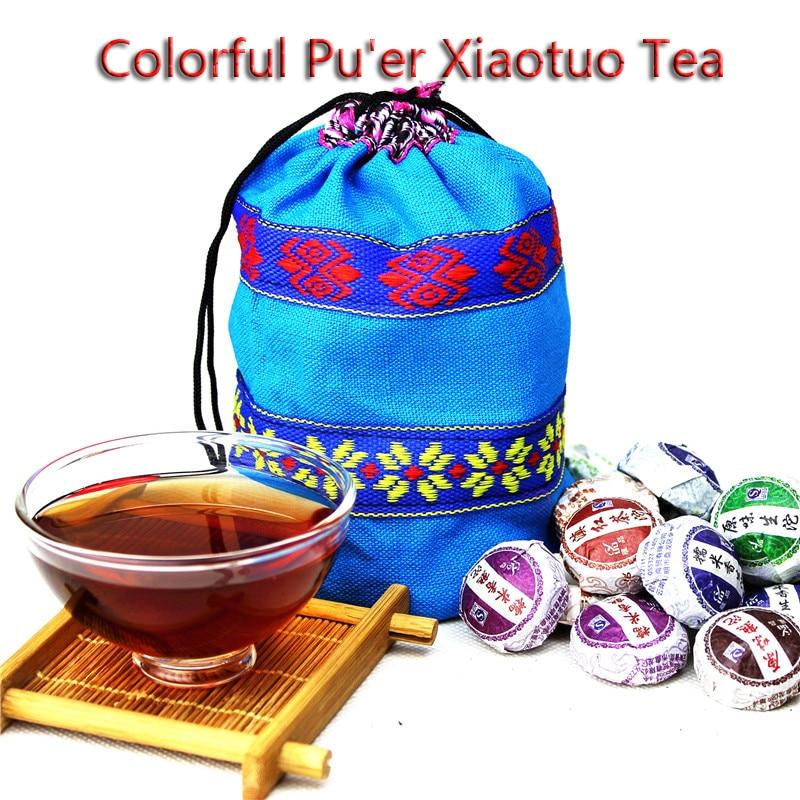 Pu'er Tea Bag Glutinous Rice Fragrant Pu'er Tea 250 Grams Of Yunnan Mature Pu'er Tea