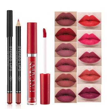 Waterproof Lip Liner Pencil Velvet Matte Lip Gloss Easy to Wear Long-lasting Lipliner Pen Sexy Lipstick Cosmetic Makeup Lip Tint недорого