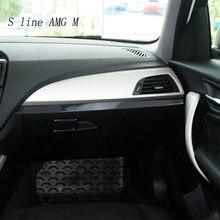 Auto Styling Carbon fiber Wrap Auto-Dashboard Toolbox Panel Aufkleber Trim Dekoration Für BMW 1 Serie F20 F21 Zubehör