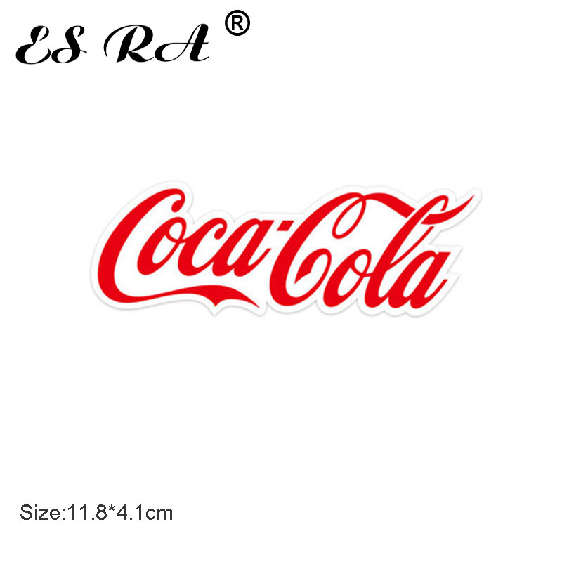 One Piece 11.8cm Coca Waterproof PVC Stickers  Cola Logo Funny Sticker Laptop Pitcher Bottle Luggage Notebook Sticker For Boys G