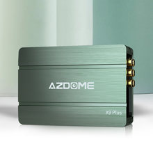 AZDOME X9 Plus DSP Amplifier Bluetooth 5.1 channel 31-band EQ tuning audio processing amplifier stereo subwoofers car audio(China)