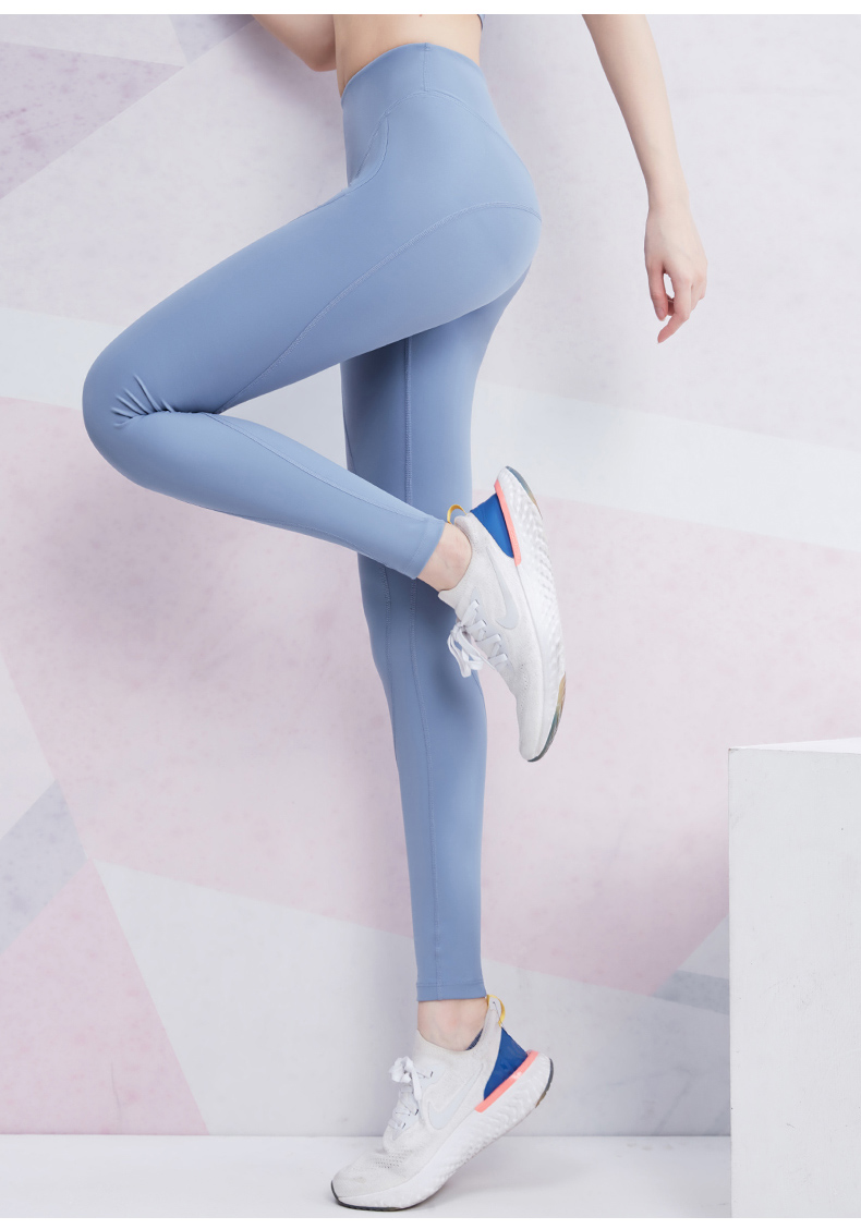 2020 Brand High Waist Yoga Pants Women Nylon Stretchy Gym Running Tights Sexy Outline Squat Proof Fitness Workout Sports Leggings From Baibuju 18 75 Dhgate Com