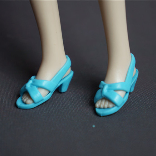 Doll Shoes Mix style High Heels Sandals Boots Colorful Assorted Shoes Accessories For Barbie Doll Baby Xmas DIY Toy 15