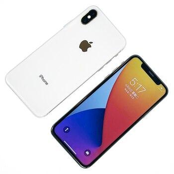 "Original used like new Unlocked Apple iPhone X Face ID 5.8"" iOS A11 Smartphone 64GB/256GB ROM 12MP Hexa Core Mobile Phone"