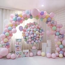 10 sztuk 10 cal 5 cal różowe złoto balon do konfetti lateks balon z okazji urodzin balon dekoracje ślubne balon Event Party Supplies tanie tanio Latex Balloons Ślub i Zaręczyny Chrzest chrzciny Płeć Reveal Birthday party Dzień dziecka Walentynki HALLOWEEN Nowy rok