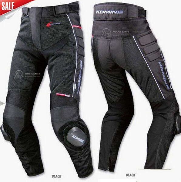 New Komine Pk708 Summer Mesh Automobile Race Pants Motorcycle Pants Automobile Race Pants Ride Pants
