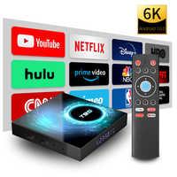 Smart TV Box Android 10.0 10 9 4GB 32GB 64GB Allwinner H616 Quad Core 6K Media player Set top box