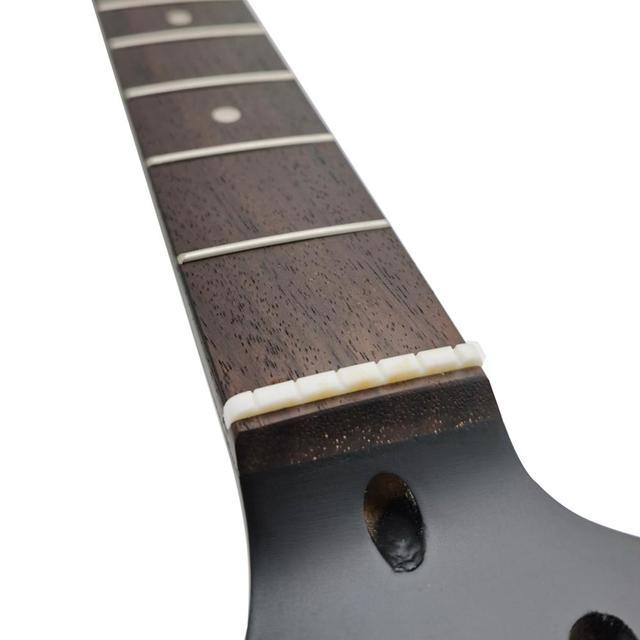 22 frette guitare électrique cou érable cou + palissandre touche bois guitare électrique cou pour ST modèle cou guitare accessoires