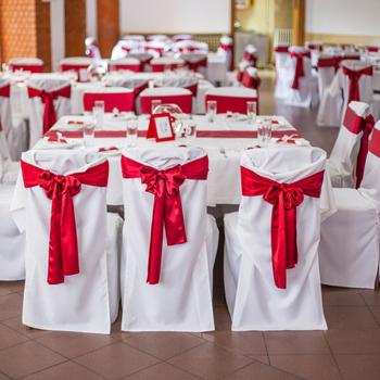 Złoto różowy biały szampan satynowe wstążki na krzesła ślubne krzesła imprezowe krzesła muszki na wesele bankietowe dekoracje na imprezy okolicznościowe tanie i dobre opinie Evich CN (pochodzenie) Gładkie barwione Zwykły Domu Hotel Ślub BANQUET 15*275cm c04-25 Satin Fabric