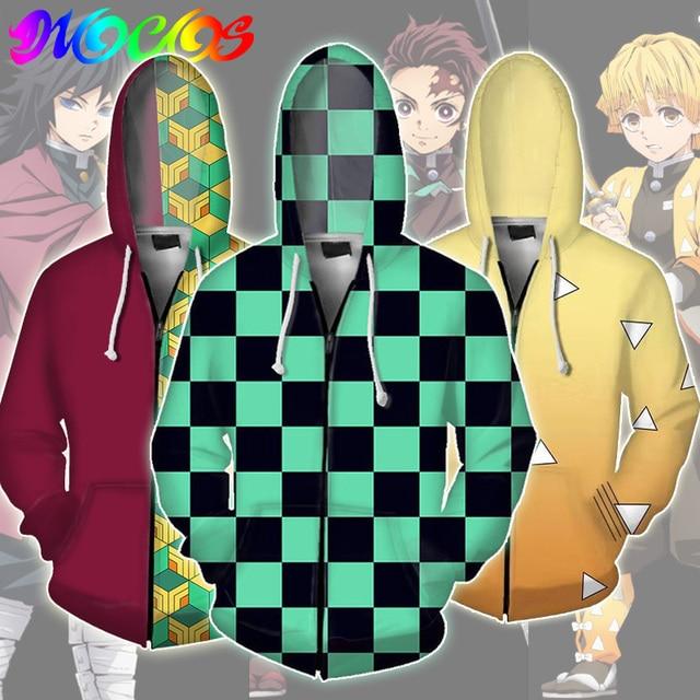 악마 슬레이어 kimetsu no yaiba tanjirou nezuko zenitsu tomioka giyuu 코스프레 까마귀 의상 anime jacket coat for halloween party